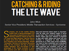 Catching and Riding the LTE Wave