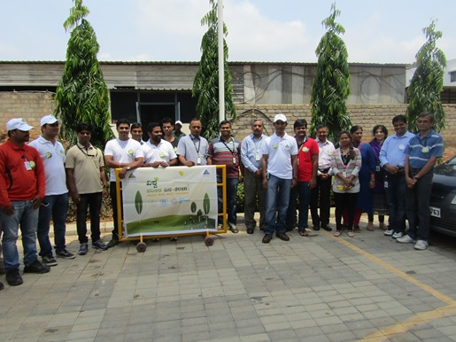 Our tree-planting team.