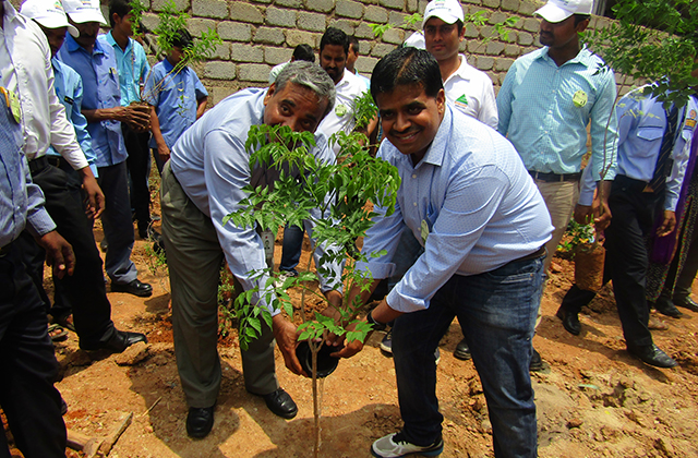 Syniverse Takes Part in Bangalore Tree Planting for Second Year