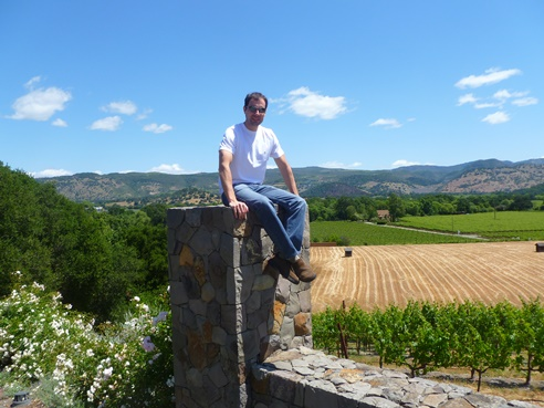 Me in Napa Valley, California, on a recent vacation.