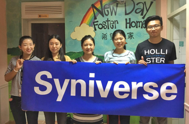 Syniverse Returns to Foster Home to Help Children in Beijing