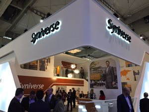 Our pavilion at Mobile World Congress.