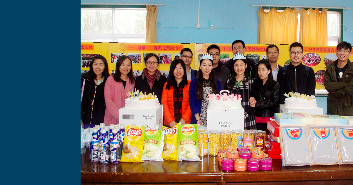 CSR Snapshot: Syniverse Visits Orphanage to Help Children in Beijing