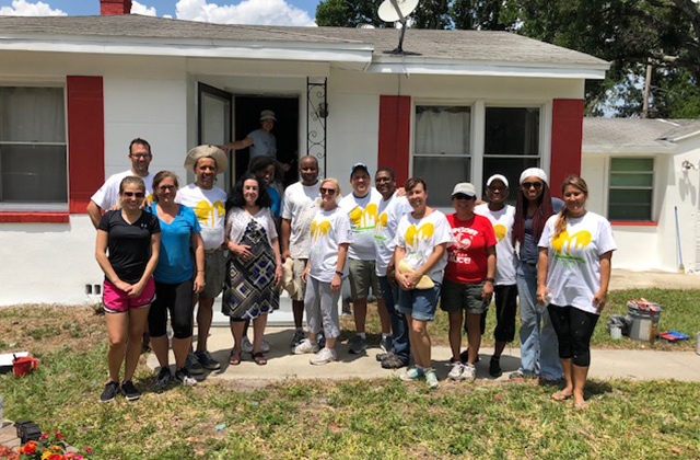 CSR Snapshot: Tampa Office 'Paints Their Heart Out' to Restore House