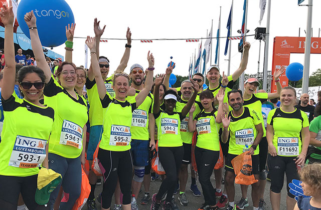 CSR Snapshot: Running for Charity in Luxembourg