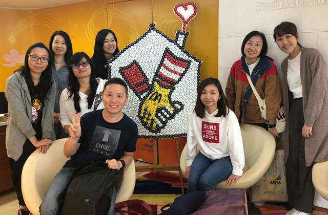 CSR Snapshot: Hong Kong Office Visits Ronald McDonald House