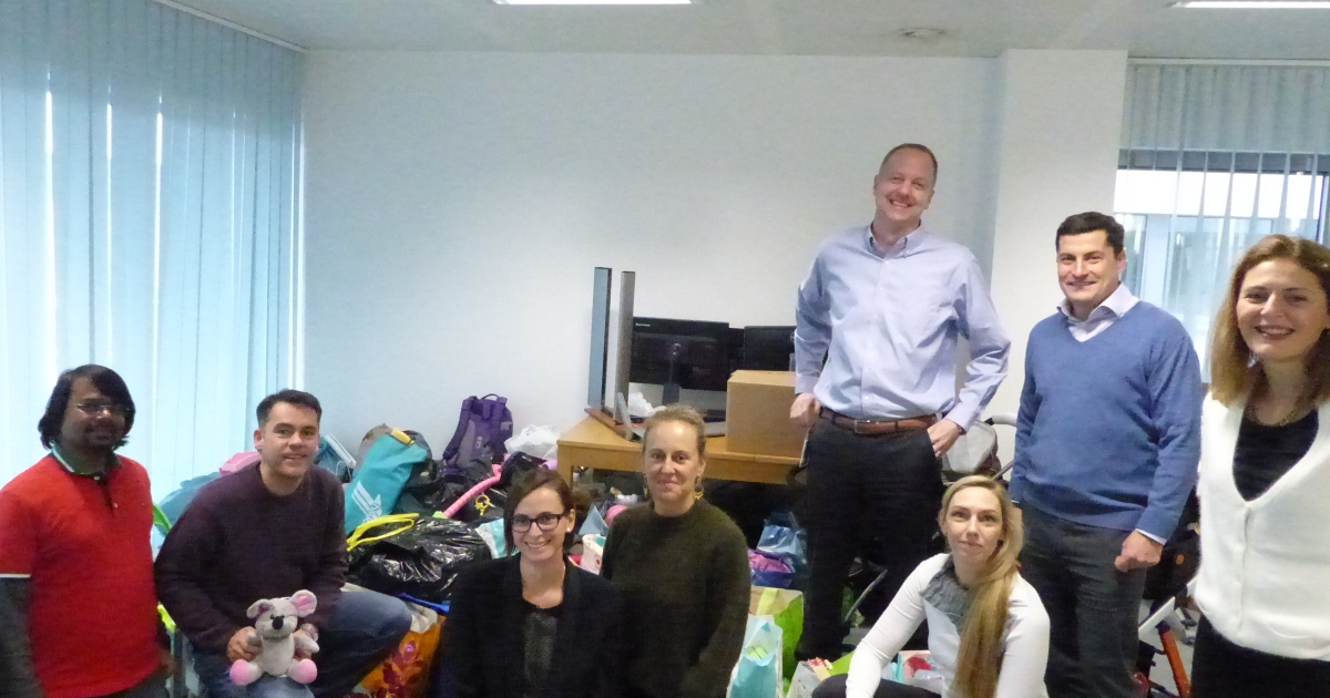 CSR Snapshot: Luxembourg Office Bags Big Toy Donation for Red Cross