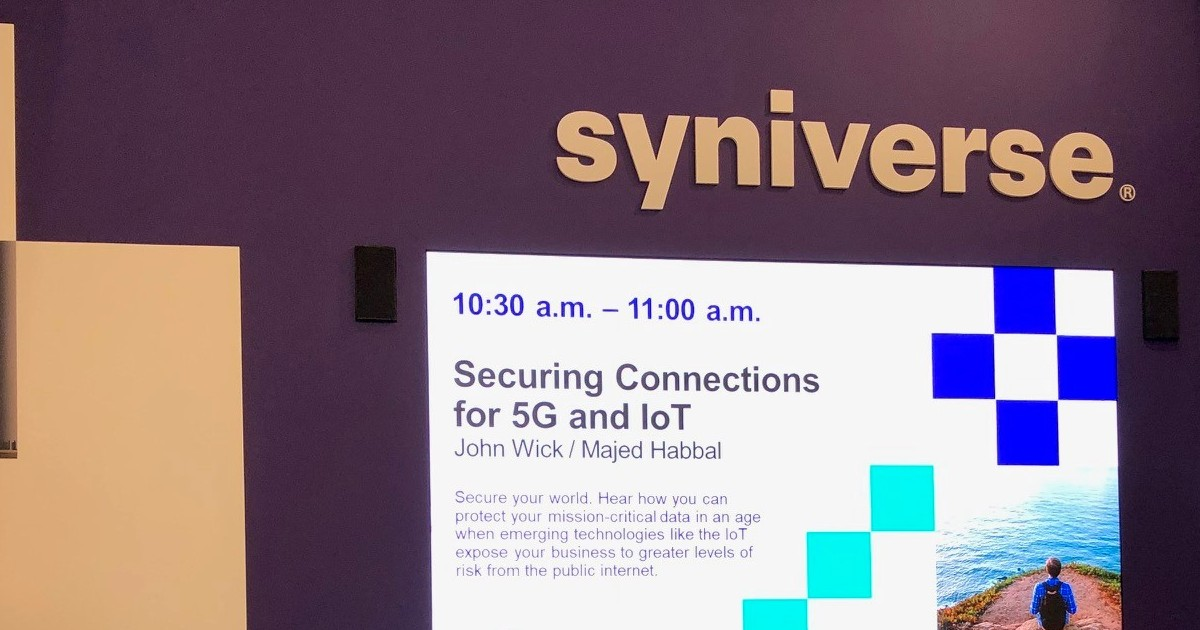 Live from MWC: Securing the Internet of Things – Without the Internet