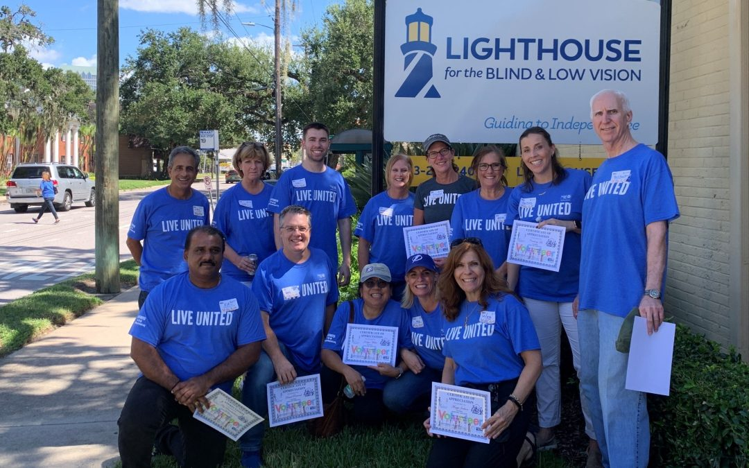 CSR Snapshot: Tampa Office Helps the Blind for Day of Caring