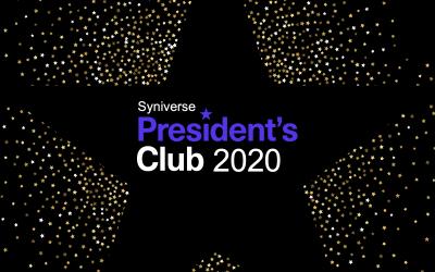 2020 Presidents' Club Winners